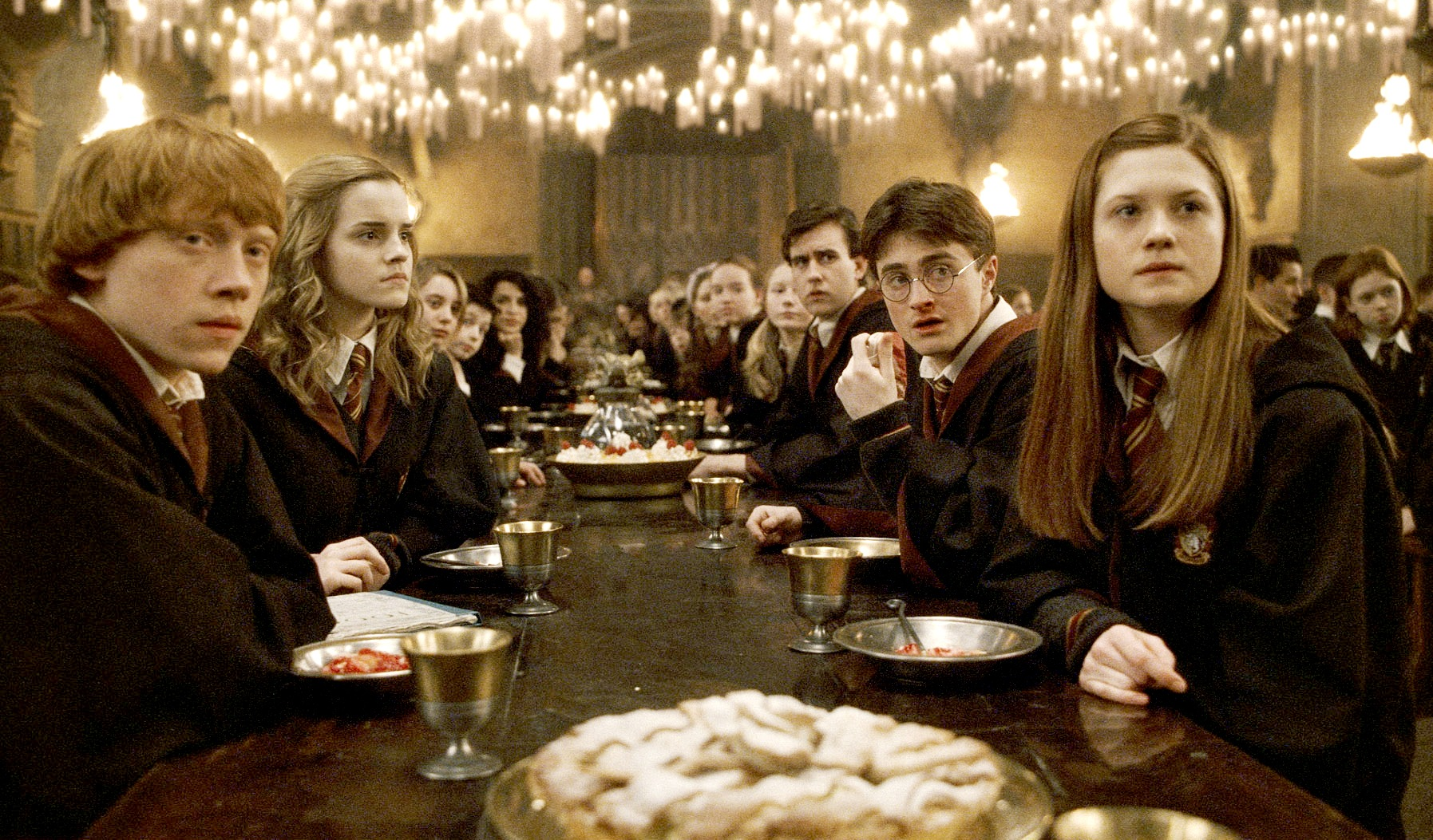 El gran comedor de harry potter bossa for Comedor harry potter