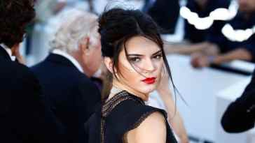 ***MANDATORY BYLINE TO READ INFPhoto.com ONLY*** Chanel Iman arriving at the premiere of 'Youth' during the 68th Annual Cannes Film festival in Cannes, France  Pictured: Kendall Jenner Ref: SPL1032707  200515   Picture by: ACE/INFphoto.com