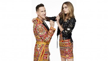 Unleash Your Wild Side: Cara Delevingne and Moschino's Jeremy Scott join forces with MAGNUM Ice Cream in fierce new campaign to celebrate MAGNUM Double (PRNewsfoto/Unilever)